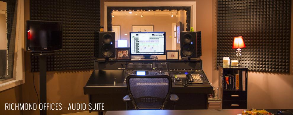 Richmond Offices - Audio Suite